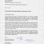 dopis od MUDr. PhDr. Miroslava Orla